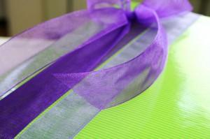 Von Chiffonbändern begeistert - verpackungen, floristik